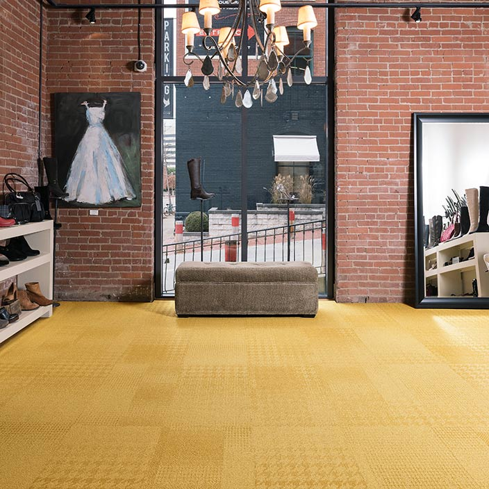 Commercial Modular carpet Flooring