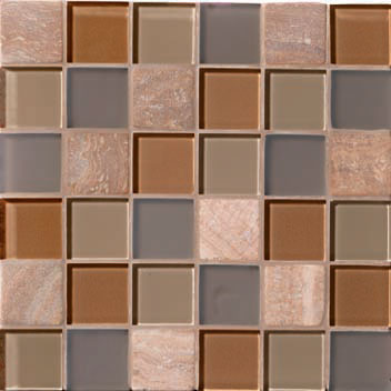 Mannington Accent Gallery Coral Blend Porcelain Tile - A04MMM