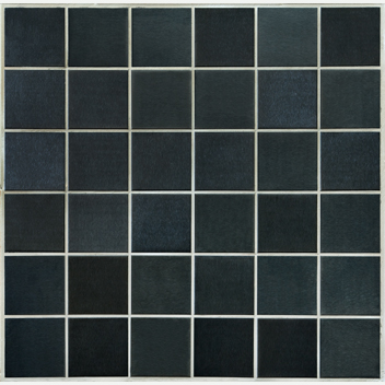 Mannington Accent Gallery Black Brushed Stainless Steel Porcelain Tile - A15MMM